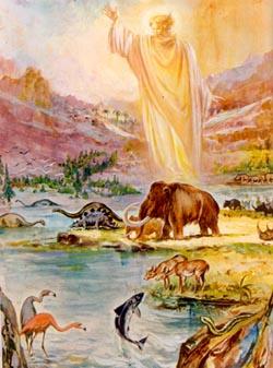 Dio e la creazione del mondo for Immagini della dispensa del maggiordomo